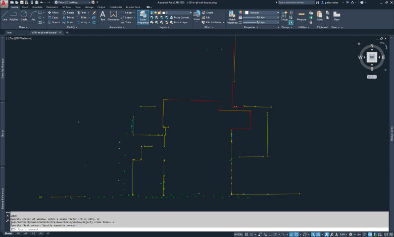 3D meting Autocad